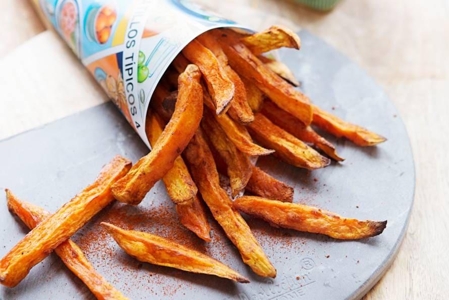 hoe maak je zoete aardappel frietjes