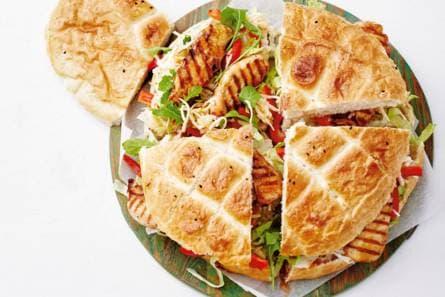 broodje met kip