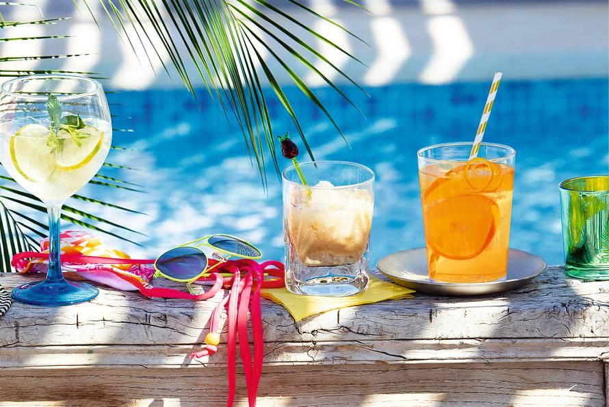 Koffiecocktail met kokosmelk