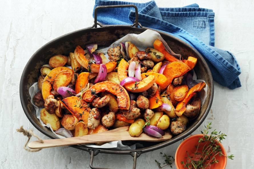 pompoen in oven recept