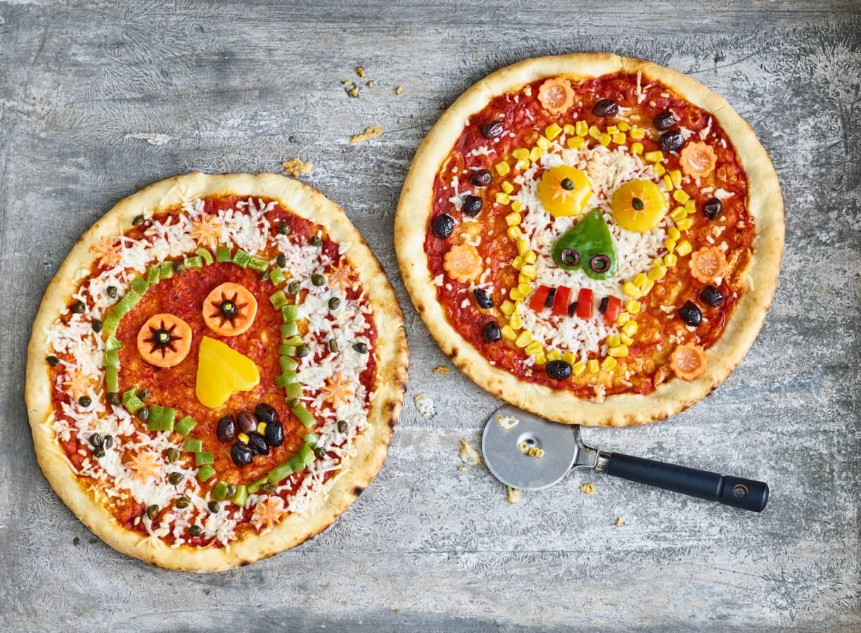 Hartige skullpizza's