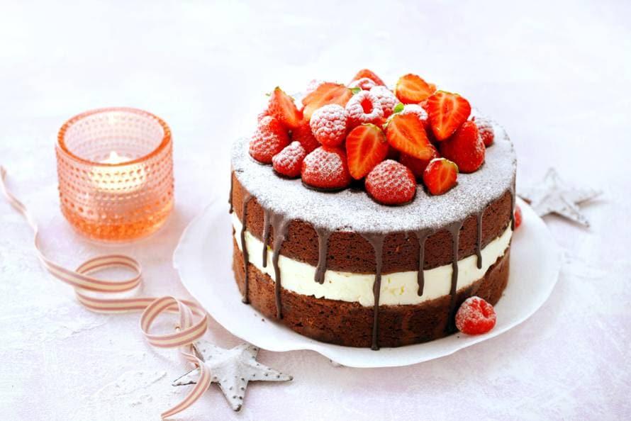 taart maken ah