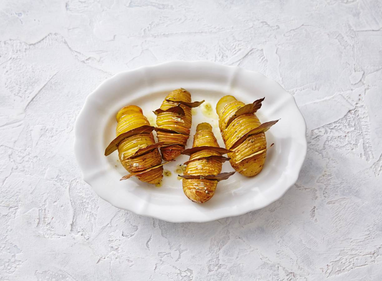 Hasselback-aardappelen