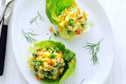 huzarensalade met dille - recept - allerhande - albert heijn