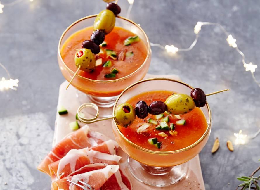 Snelle Spaanse gazpacho