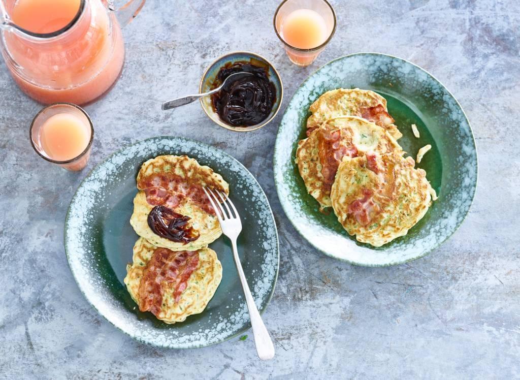 Pannenkoeken met groente