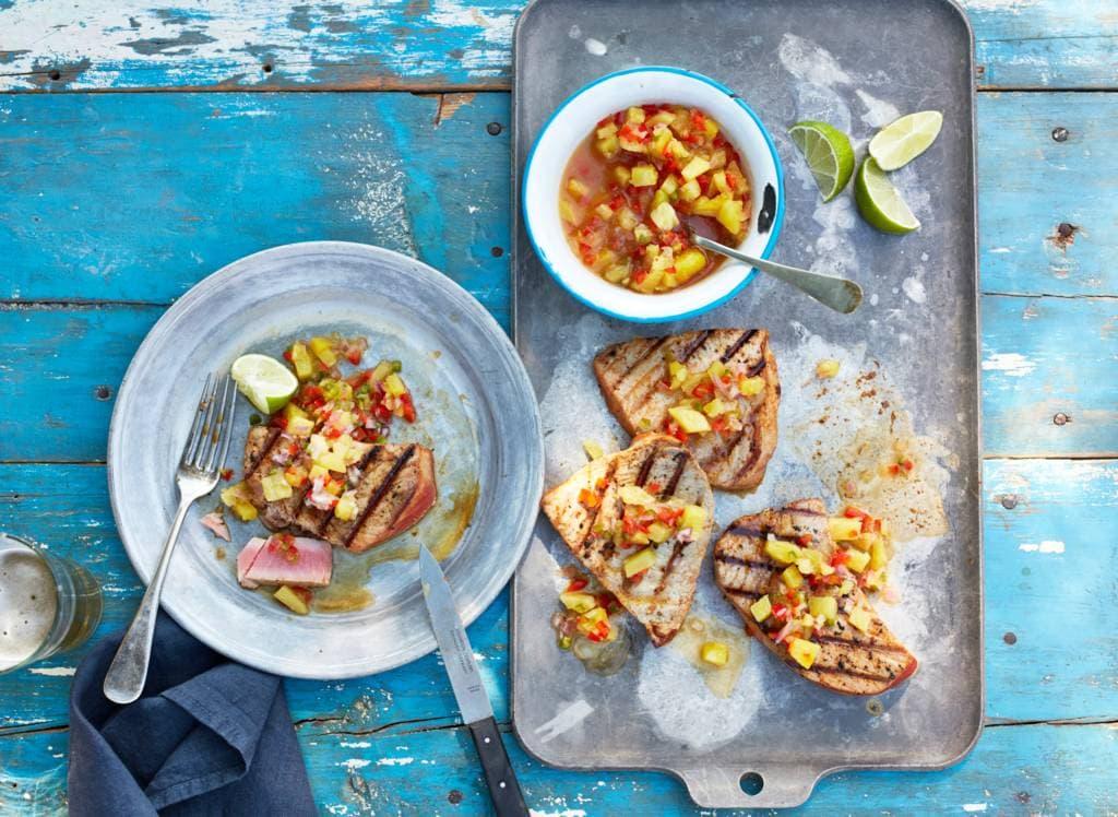 Bbq-recepten met tonijn