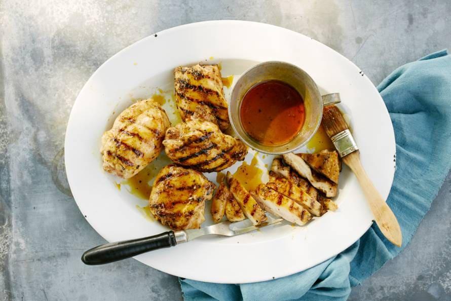 Zoetzure BBQ-kip uit de Carolina's