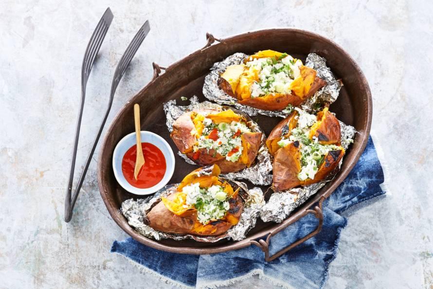 Jacked sweet potato