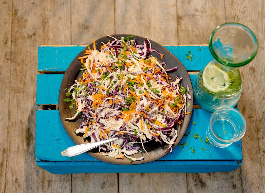 Louisiana coleslaw