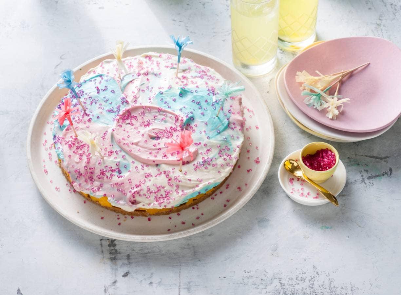 Unicorn-cheesecake