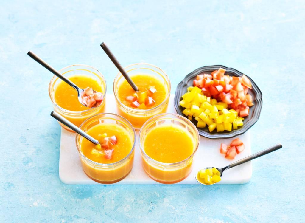 Zomerse soep recepten