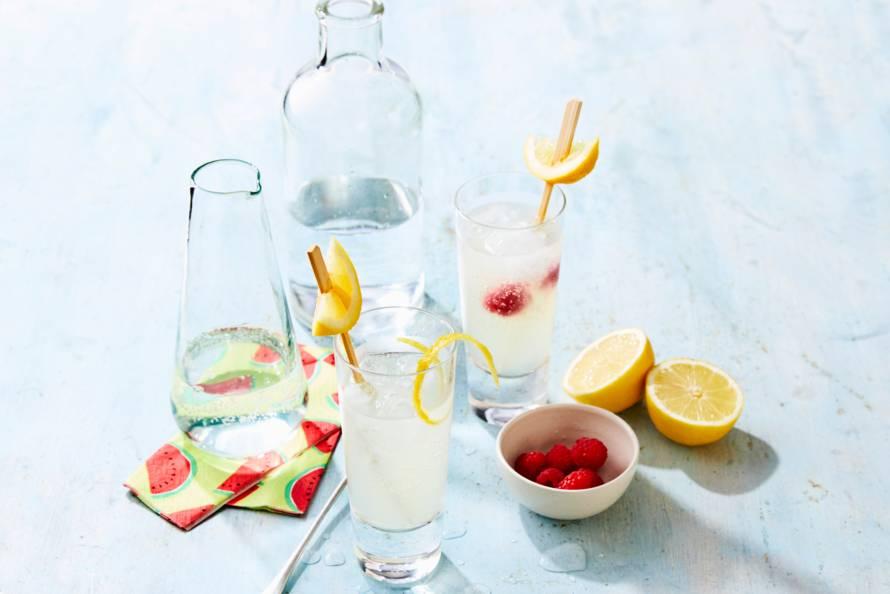 Verfrissende citroenlimonade
