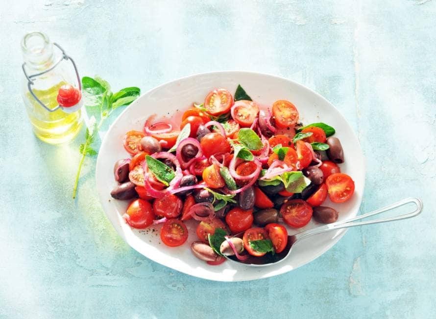 Boerse tomatensalade