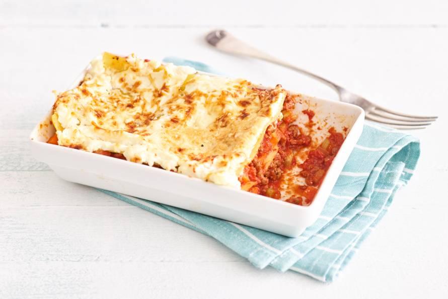 oventijd lasagne