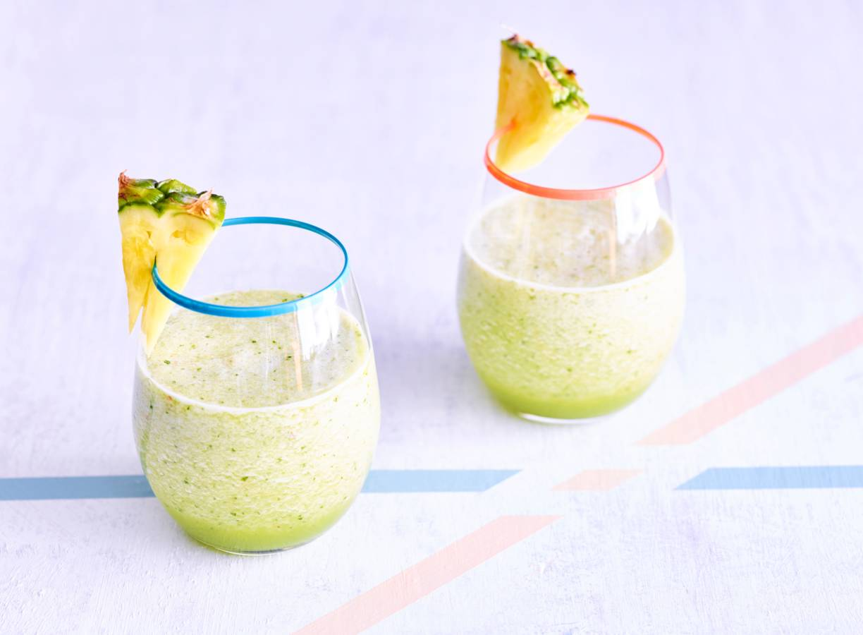 Smoothie ananas appel komkommer