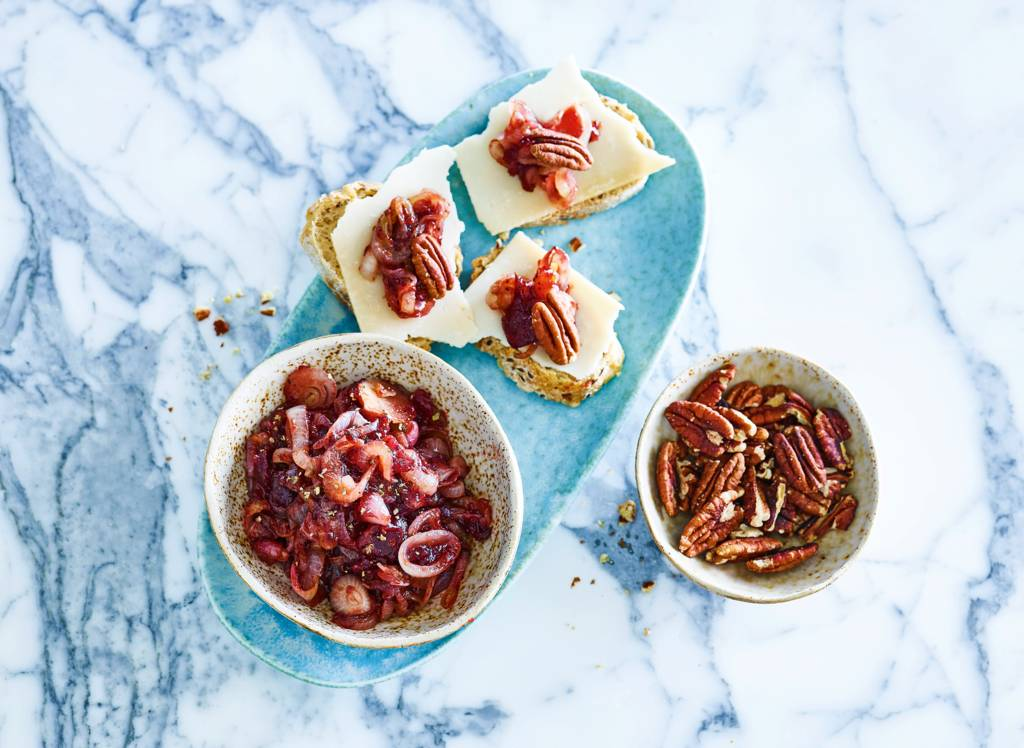 Sjalotten-cranberrychutney