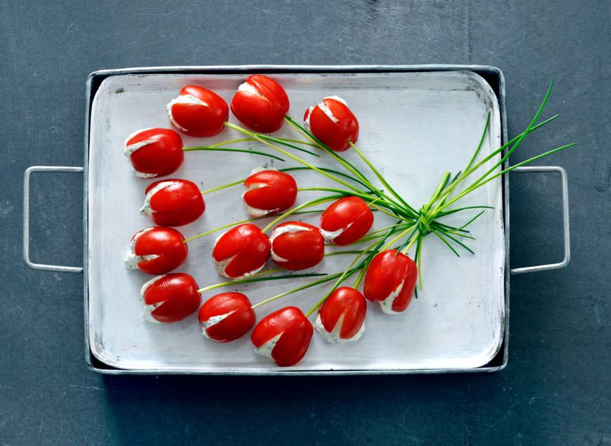 Tomatentulpjes