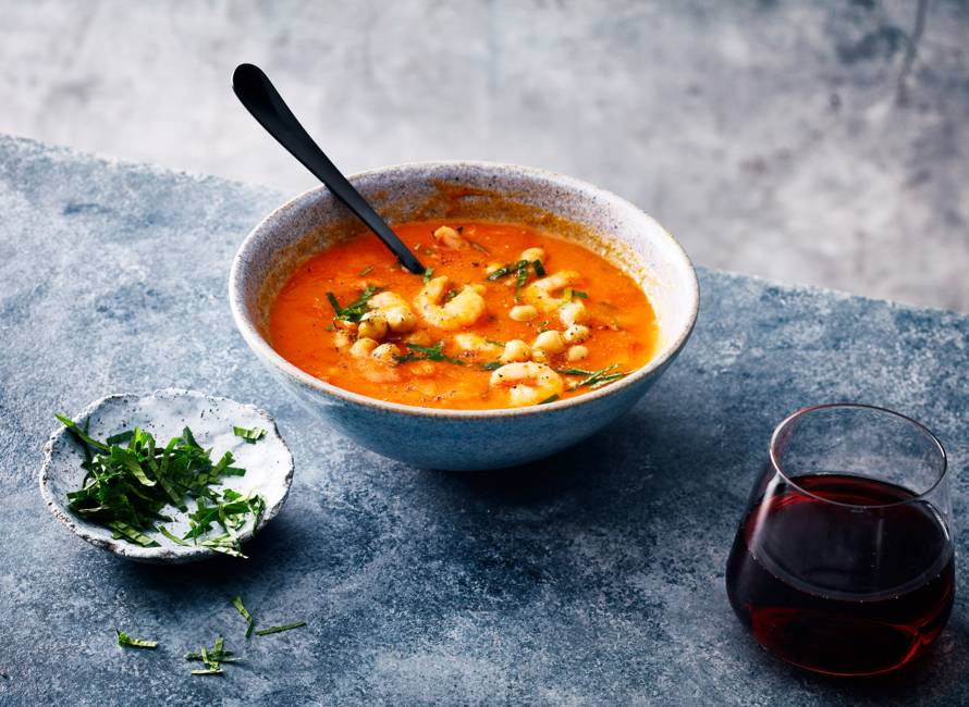 Spicy tomatensoep