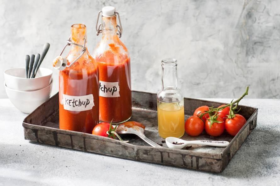 recept zelfgemaakte tomatenketchup