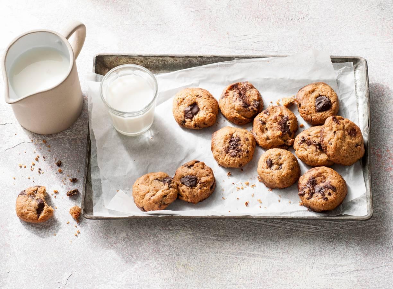 Pindakaas-chocolatechipcookies