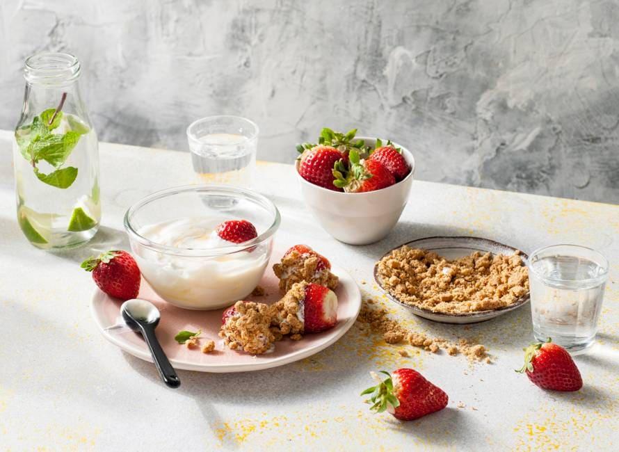 Strawberry-cheesecakedip