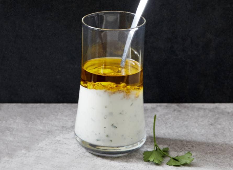 Klassieke yoghurtdressing