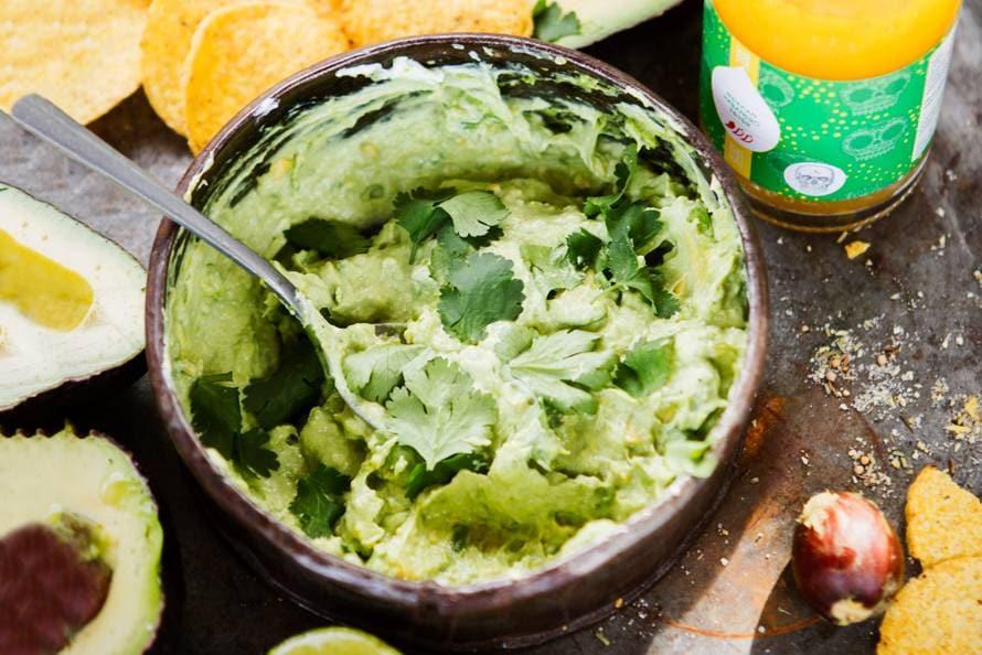Avocado-habanero fever dip