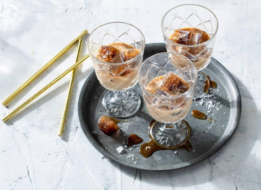 Salted Irish cream & coffee-cocktail