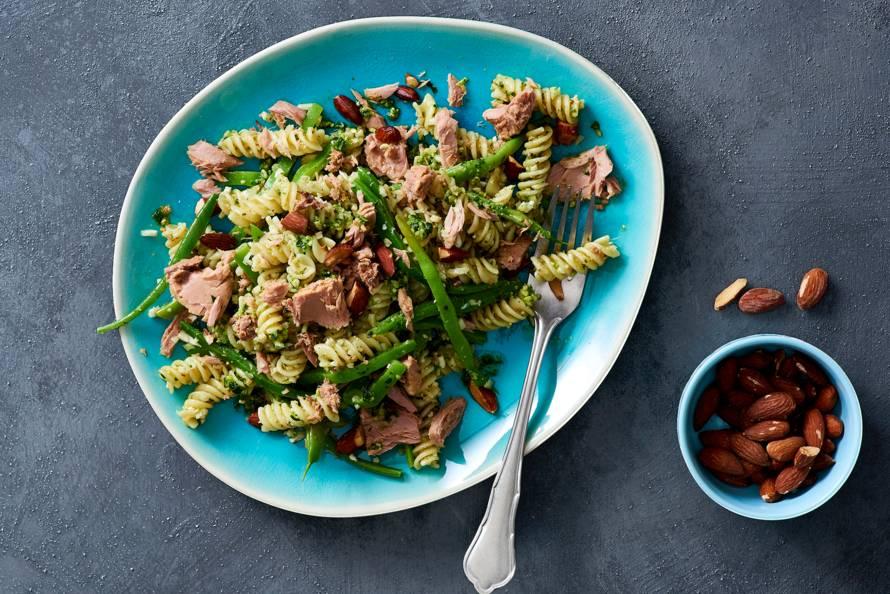 pesto tonijn pasta