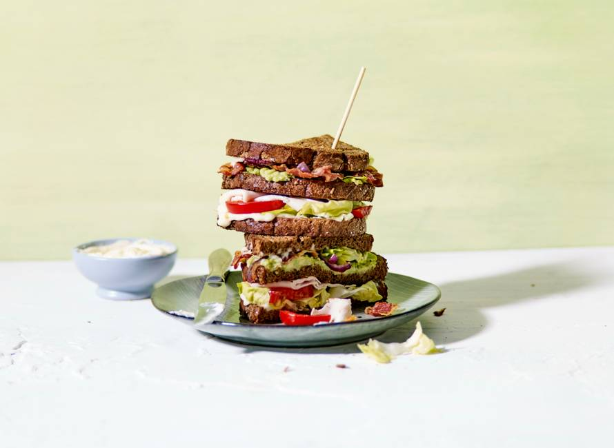 BLT-sandwich met allioli