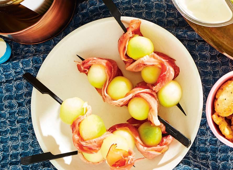 Meloen-hamprikkers