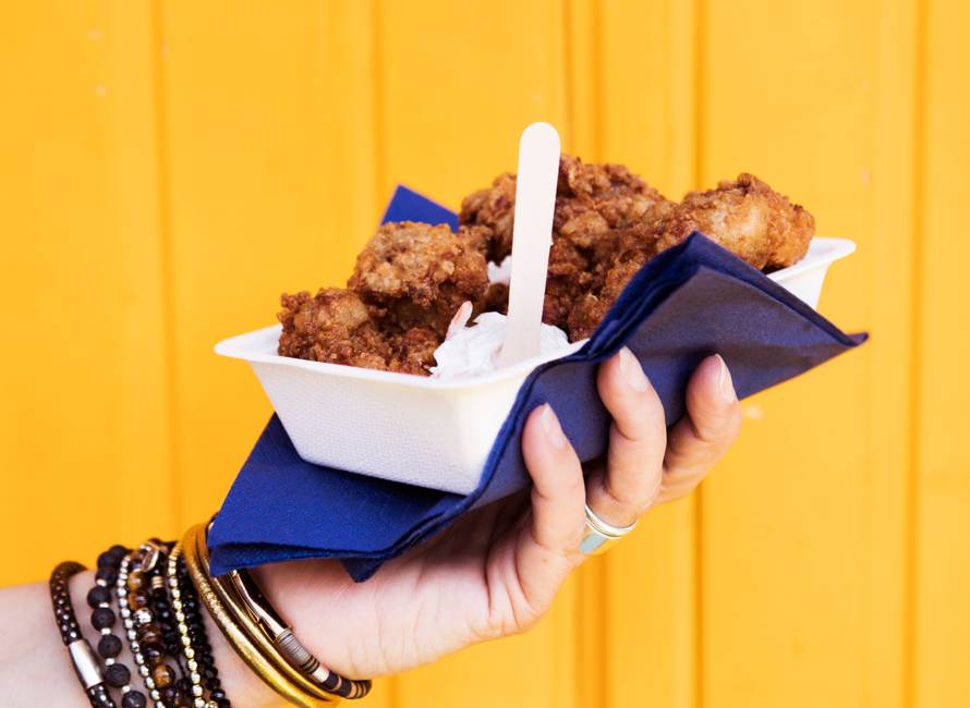 Tonny's fried chicken (by Pass the Peas)