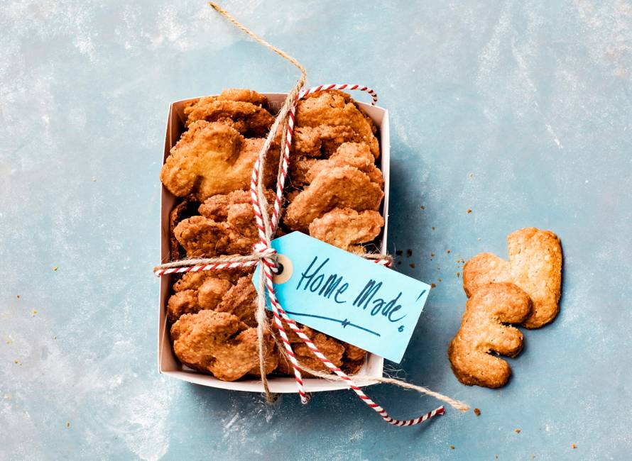 Hart onder de riem koekjes