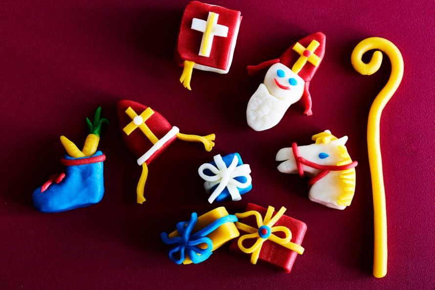 Marsepeinen sinterklaasjes & cadeaus