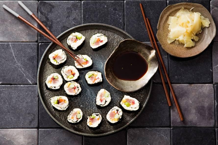 Lowcarb sushi