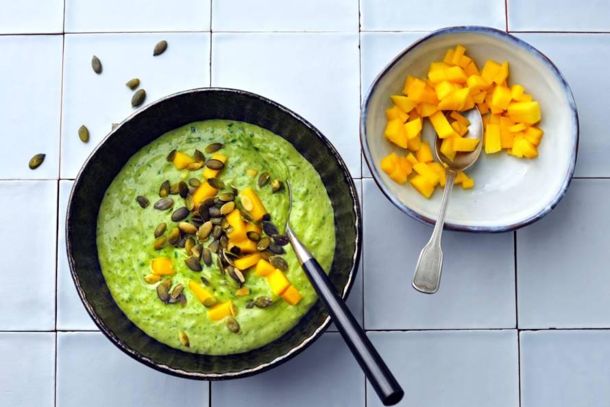 Groene smoothiebowl