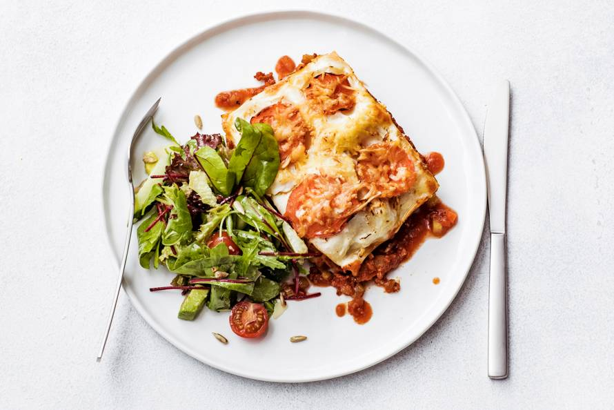 recept lasagne bolognese met bechamelsaus