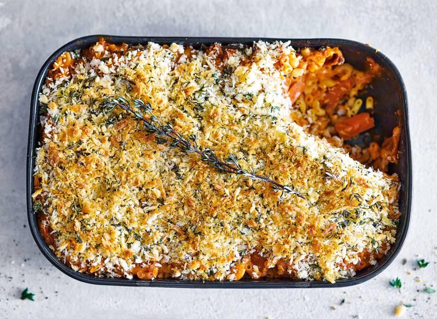 Ovenpasta met Italiaanse groenten & kaas