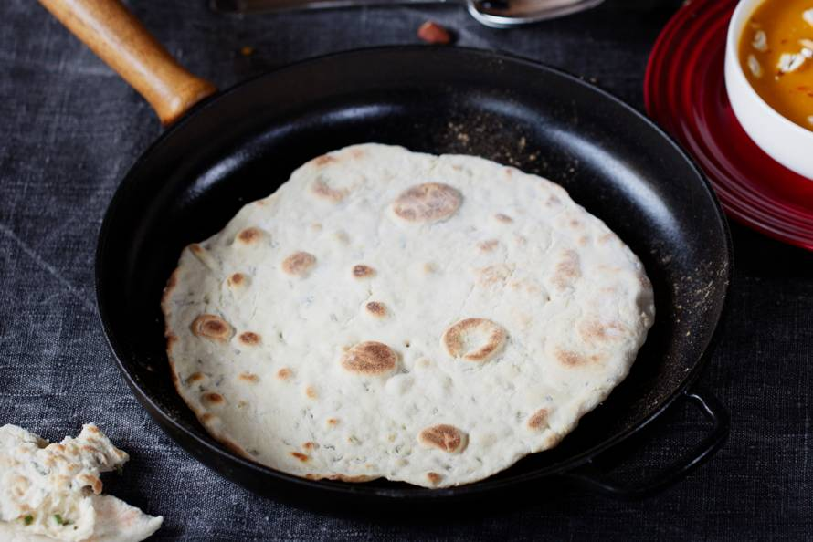 Panbrood met rozemarijn en knoflook