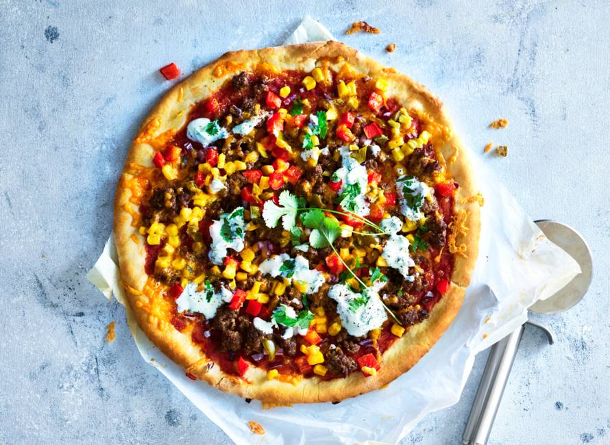 Mexicaanse pizza