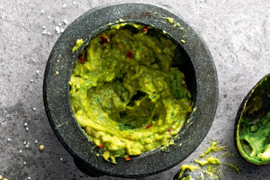 Pittige guacamole