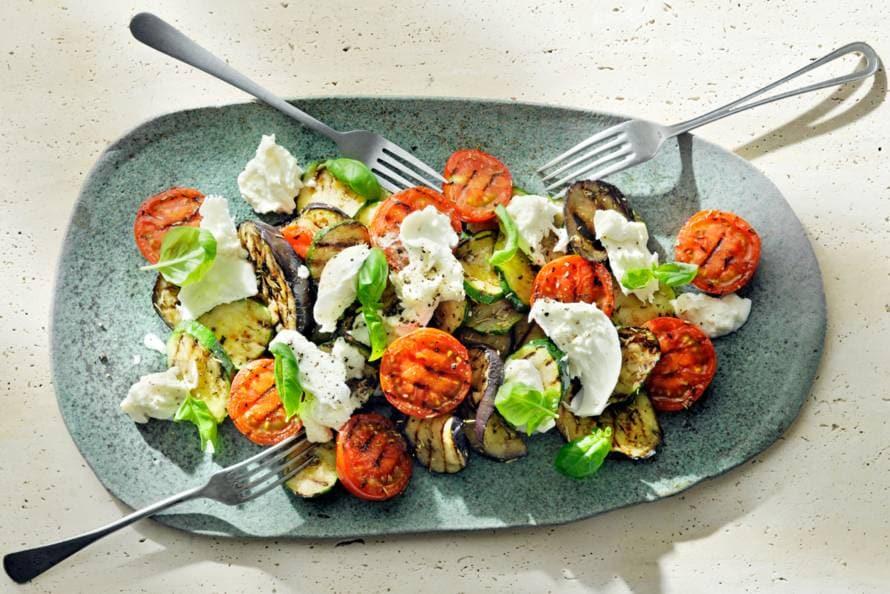 Gegrilde groenten van de barbecue Recept Allerhande