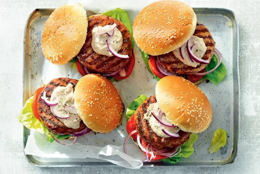 Kipburger tonnato