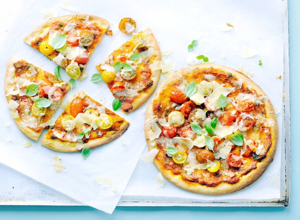 Hollandse tomatenpizza