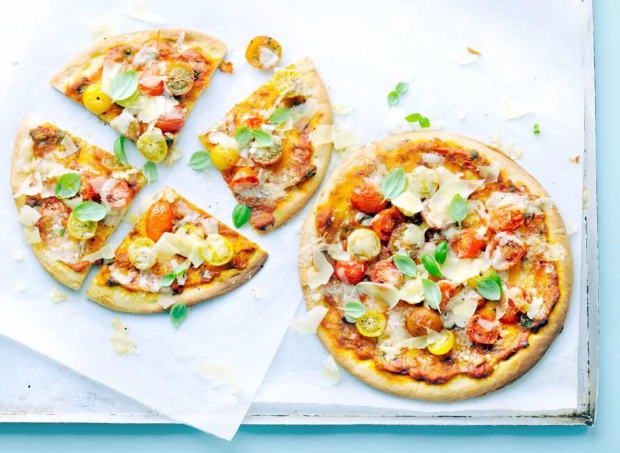 Hollandse tomatenpizza