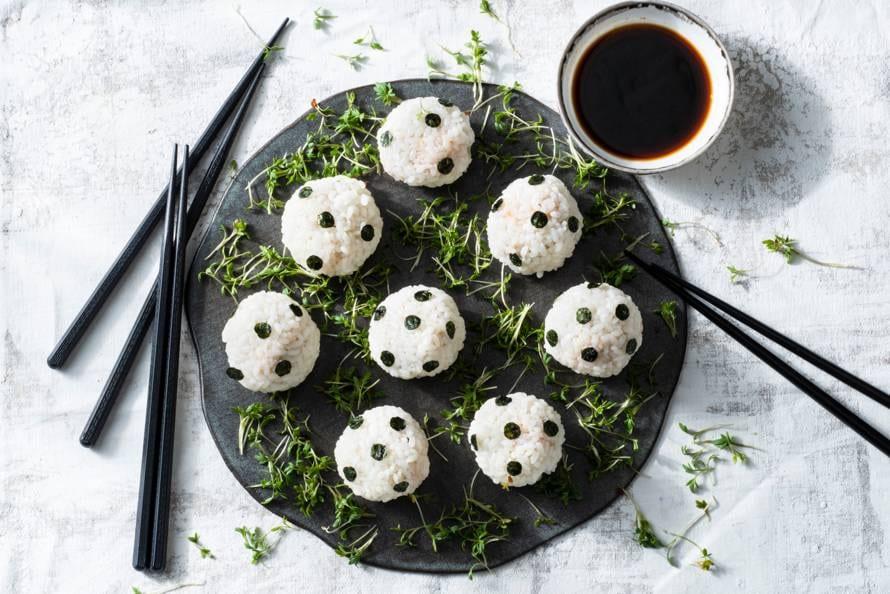 Voetbal-'sushi'