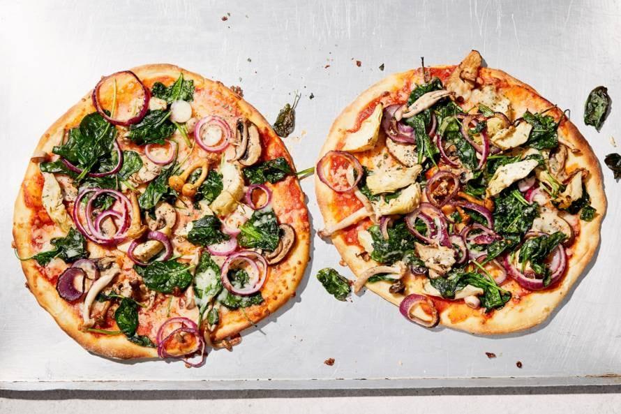 Veggielovers-pizza