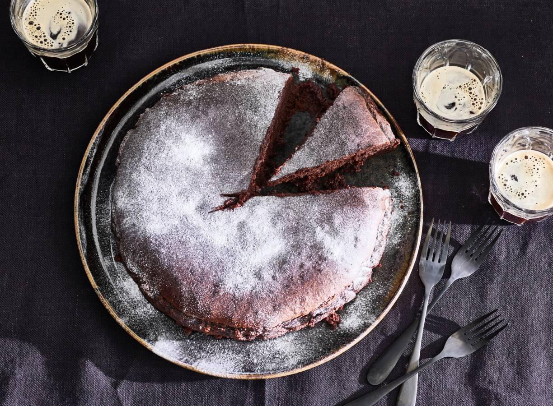 Chocolademoussetaart van Nigella Lawson
