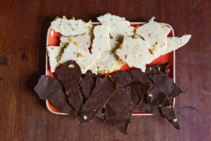 Crunchy chocoladeschotsen